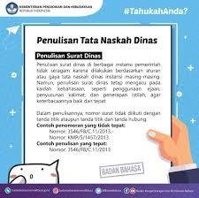 Pengutamaan Bahasa Indonesia dalam Naskah Dinas