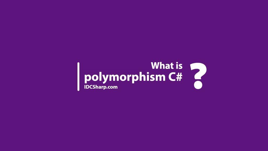 polymorphism pada bahasa pemrograman C#